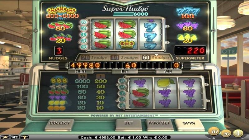 Super Nudge 6000 hos Betsafe